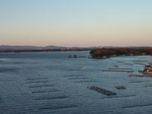 英虞湾の夕暮れ