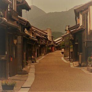関宿の古い町並み