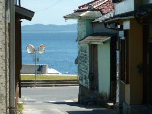 篠島の街並み