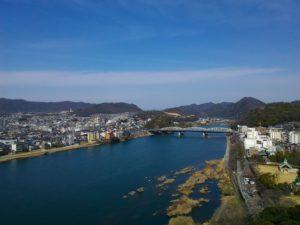 犬山城からの風景