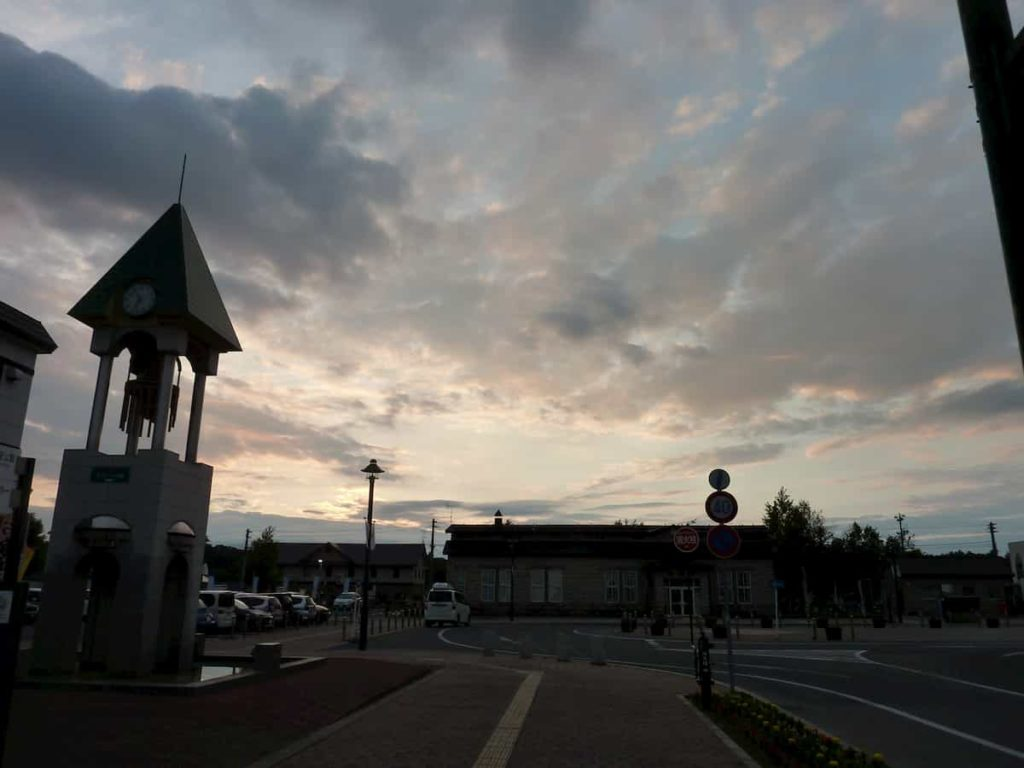 美瑛の夕日